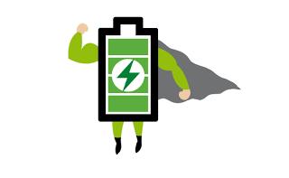 Extra dlouhá výdrž baterie